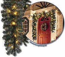 Künstliche LED Weihnachtsgirlande Tannengirlande