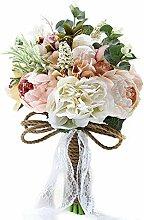 Künstliche mehrere seidige Blumen Hochzeit