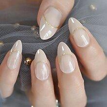 Künstliche Nägel Stiletto Falsche Nägel Designs