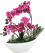 Künstliche Orchidee, dekorative Synthetische Pflanze, Lila