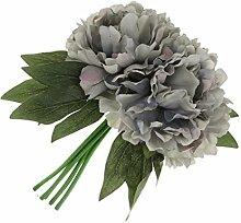 Künstliche Pfingstrose Blumen 5-Köpfe