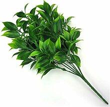 Künstliche Pflanze 7 Niederlassungen Grüne