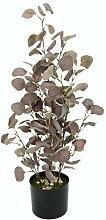 Künstliche Pflanze Eukalyptus im Topf Deko