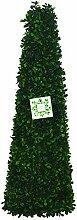 Künstliche Pflanze Formschnitt Obelisk Blatt-Effek