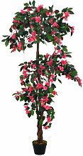 Künstliche Pflanze Rhododendron mit Topf Rosa 165
