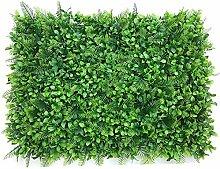 Künstliche Pflanze Wand Rasen Kunststoff