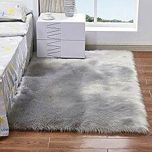 Künstliche plüsch teppich flauschige teppiche