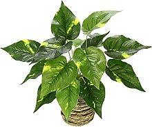 Künstliche Pothospflanze im Korb Pothos Pflanze