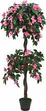 Künstliche Rhododendron-Pflanze mit Topf 155 cm