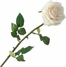 Künstliche Rosafarbene Blumen Aus Seide Weißen