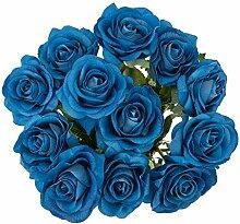 Künstliche Rosen, echt, echt, für Hochzeit,
