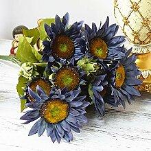 Künstliche Sonnenblumen, 13 Kopf, Kunstblumen,