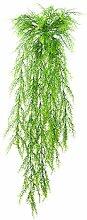 Künstliche Spargelkrautranke mit 14 Zweigen, grün, 105 cm - Künstliche Ranken / Kunstpflanze - artplants