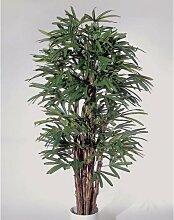Künstliche Steckenpalme mit 789 Blättern, 180 cm / Kunstpalme - Dekopalme