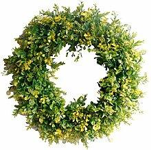 Künstliche Türkranz, FunPa Green Leaves Kranz