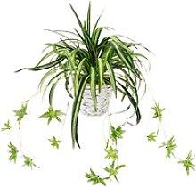Künstliche Zimmerpflanze Wasserlilie, höhe 35