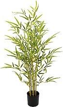 Künstlicher Bambus im Topf Kunstpflanze Kunstbaum