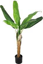 Künstlicher Bananenbaum 120 cm Kunstpflanze Palme