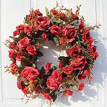 Künstlicher Blumen-Kranz für Frauen,
