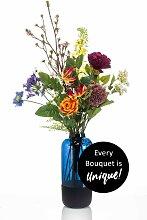 künstlicher Blumenstrauß Bouquet FLOWER BOMB