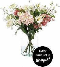künstlicher Blumenstrauß Bouquet SOFT PASTELS