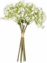 Künstlicher Blumenstrauß mit weißem