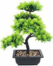 Künstlicher Bonsai Baum Kiefer im Brown Topf
