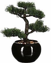 Künstlicher Bonsai, Keramiktopf, Höhe 36 cm