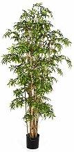 Künstlicher Japanischer Pfeilbambus KAITO, 1310 Blätter, grün, 110 cm - Bambus künstlich / asiatische Kunst Pflanze - artplants