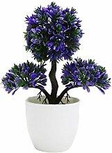 Künstlicher Mini Künstpflanzen Dekoration,