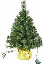 Künstlicher Mini Weihnachtsbaum WARSCHAU mit