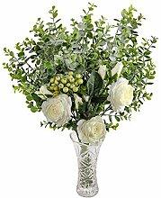 Künstlicher Rosen und Eukalyptus Blumenstrauß