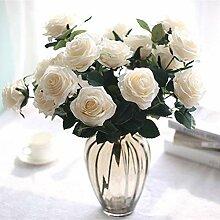 Künstlicher Rosenstrauß, 10 künstliche