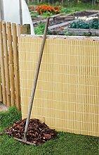 Künstlicher Sichtschutz - Bambus (gespalten), 4m