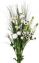 Künstlicher Sommermix Blumenstrauß mit 12