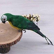 Künstlicher Vogel, 25 cm Feder, realistische
