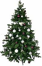 Künstlicher Weihnachtsbaum 180 cm geschmückt mit