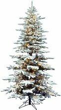 Künstlicher Weihnachtsbaum 183 cm Weiß mit 350