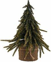Künstlicher Weihnachtsbaum 28 cm mit Ständer
