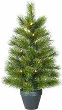 Künstlicher Weihnachtsbaum 61 cm Grün mit 20