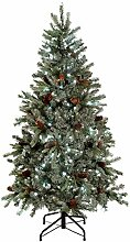 Künstlicher Weihnachtsbaum, Blautanne, 250 weiße