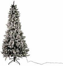 Künstlicher Weihnachtsbaum Weiß mit 300