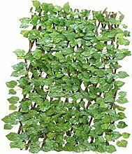 Künstlicher Zaun Blatt gefälschte Pflanze Efeu