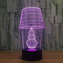 Kürbis Modell 3D Visuelle Illusion Nachtlicht LED