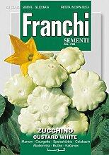 Kürbissamen - Zucchini Custard White von Franchi Sementi