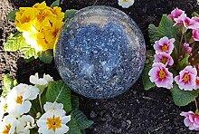 Kugel aus Edelstahl 20 cm Dekokugel Granit