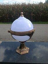 Kugel Gold Garten Stehlampe Aussenleuchte Paris Leuchte Gartenleuchte Stehleuchte