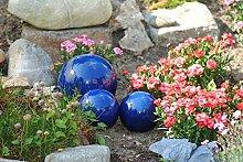 Kugel,Rosenkugel,Gartenkugel,in tollem Blau,frostfest;(17cm)