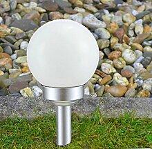 Kugel Solarlampe 30cm Gartenlampe Außenlampe