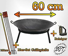 Kugelgrill Feuerschale für Grill, Camping, Garten